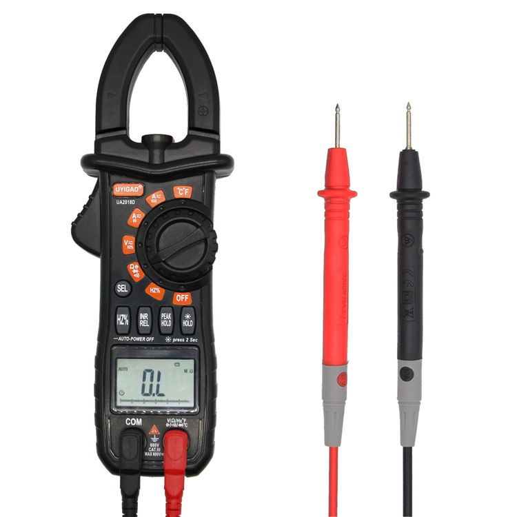digital clamp multimeter with trms ncv Amperimetro tester