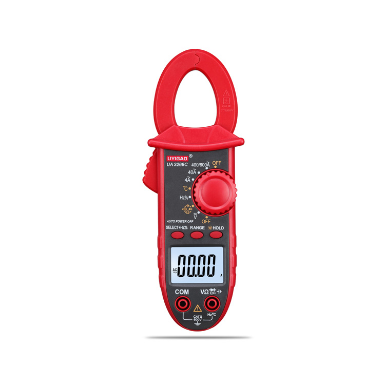 Display 6000 Counts TRMS AC DC Current tester Mini Smart Digital Clamp Meter UA3268D