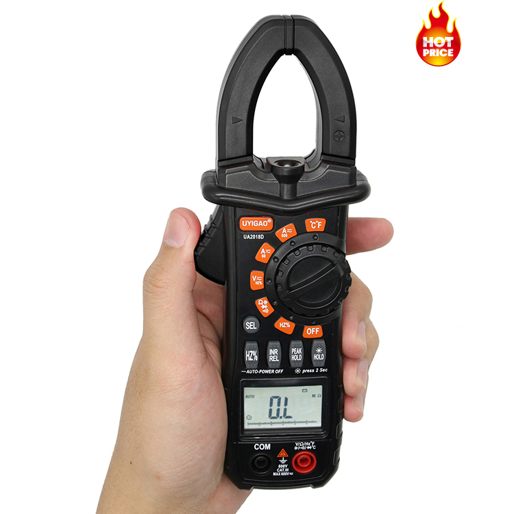 Amazon hot sale smart Small Pocket Palm Portable Compact Handheld mini clamp meter UA2018A